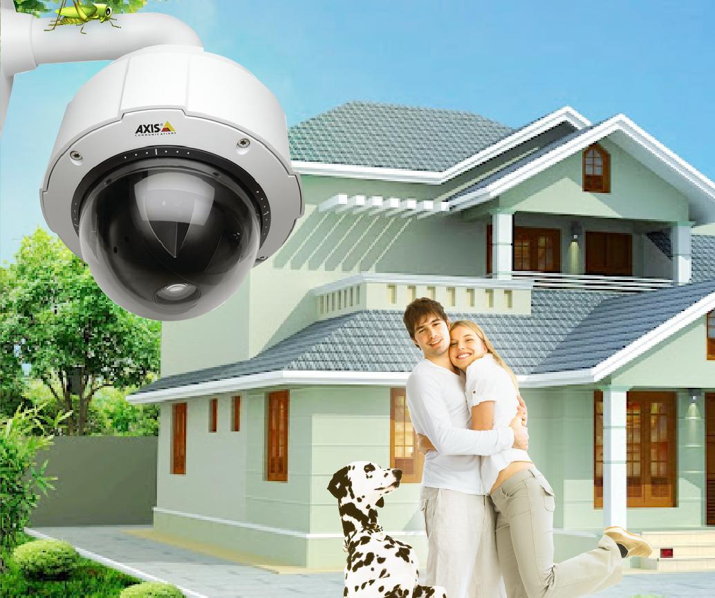 Видеонаблюдение в частном доме своими руками