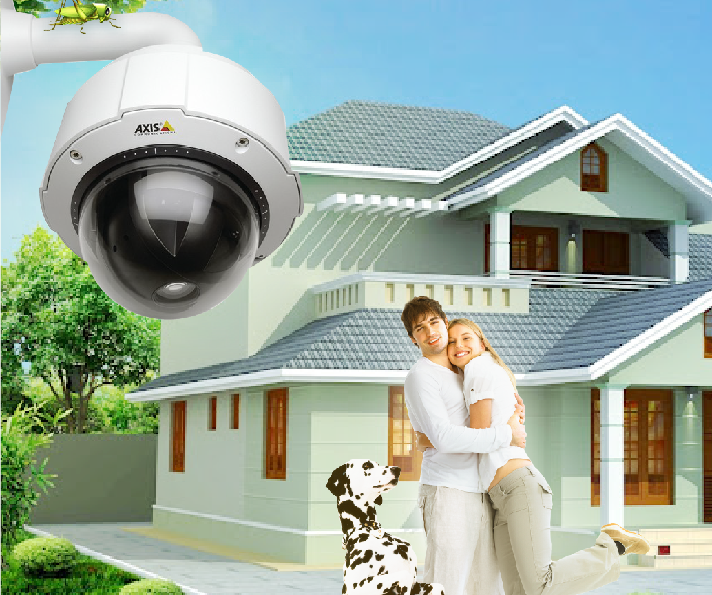 Охрана домов своими руками